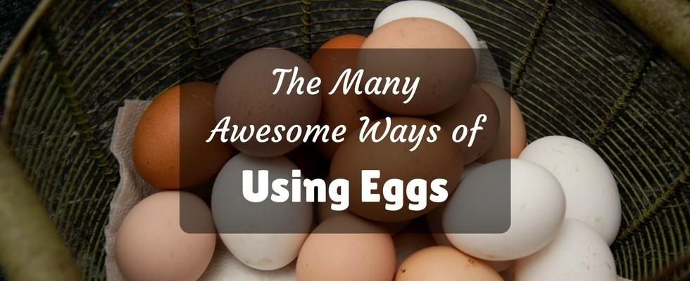 many awesome ways of using eggs
