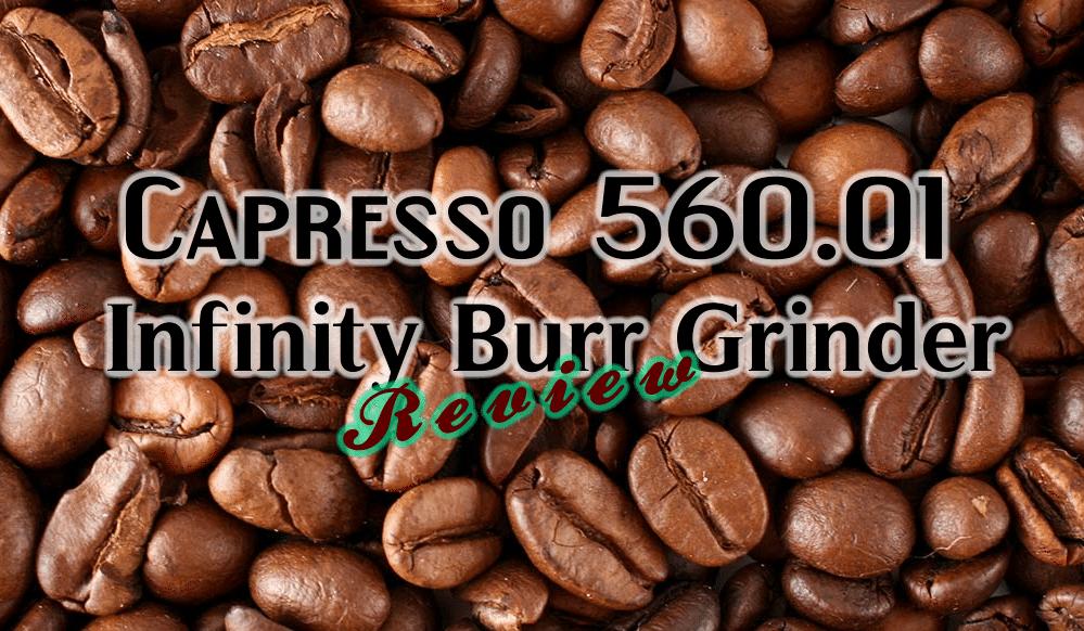Capresso 560.01 Infinity Burr Grinder, Black
