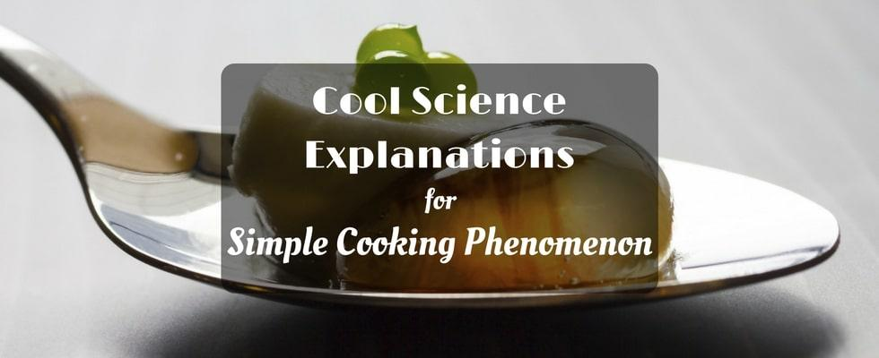 explanations for cooking phenomenon