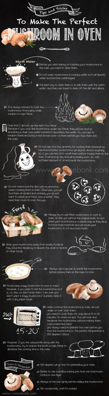 Tips and Tricks to Make the Perfect Mushroom in Oven banner