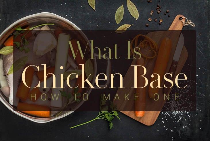 what is chicken base