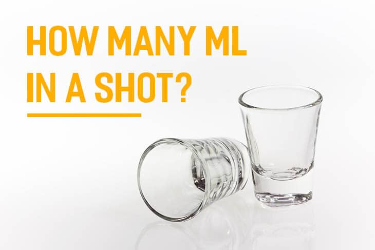 how many ml in a shot