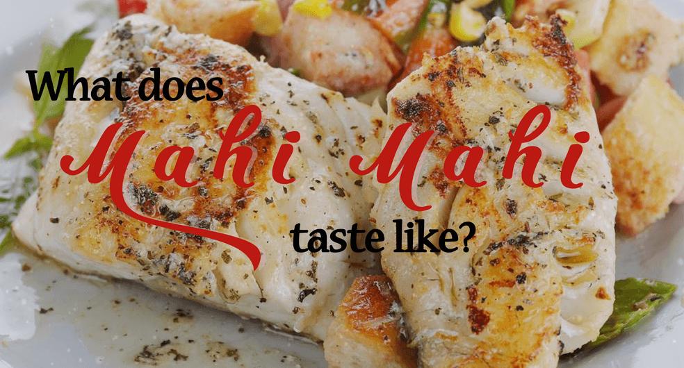 what does mahi mahi taste like