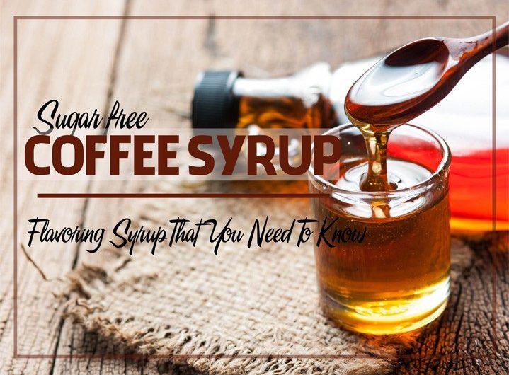sugar free coffee syrup