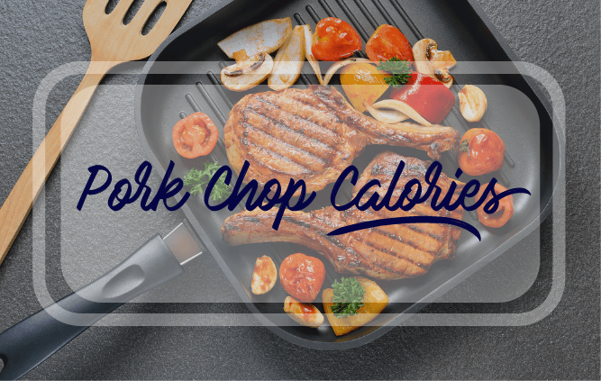 pork chop calories