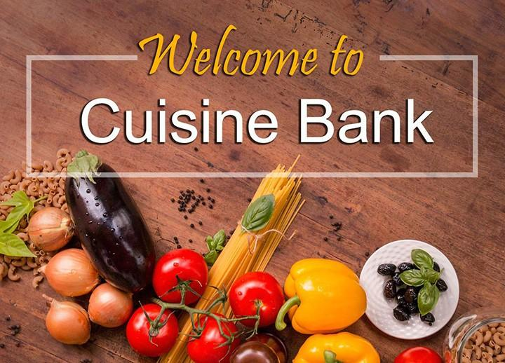 welcome to cuisine bank