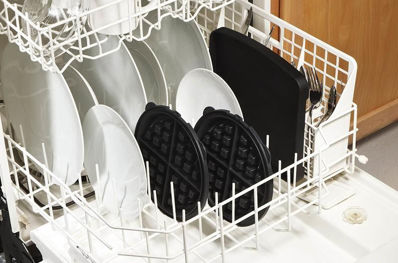 Dishwasher Safe Waffle Grid Irons