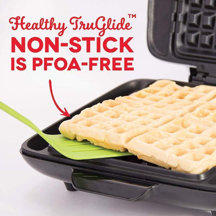 Dash No Mess Waffle Maker Non-Stick Coating